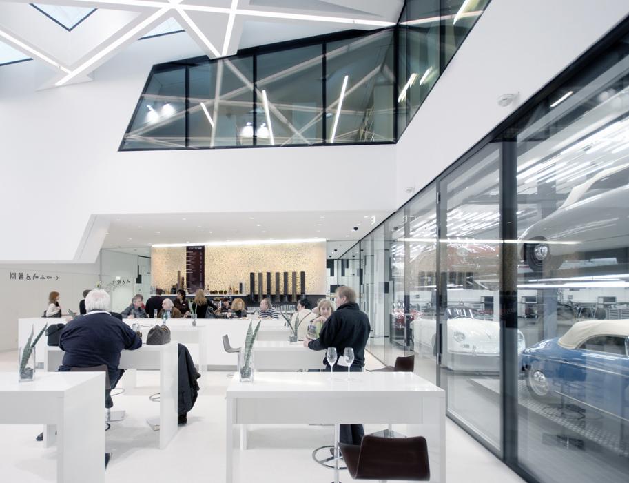 Porsche Museum coffee bar