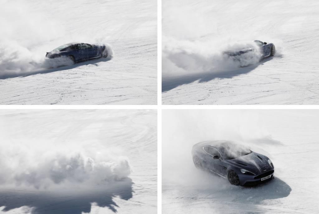 Aston Martin Vanquish action