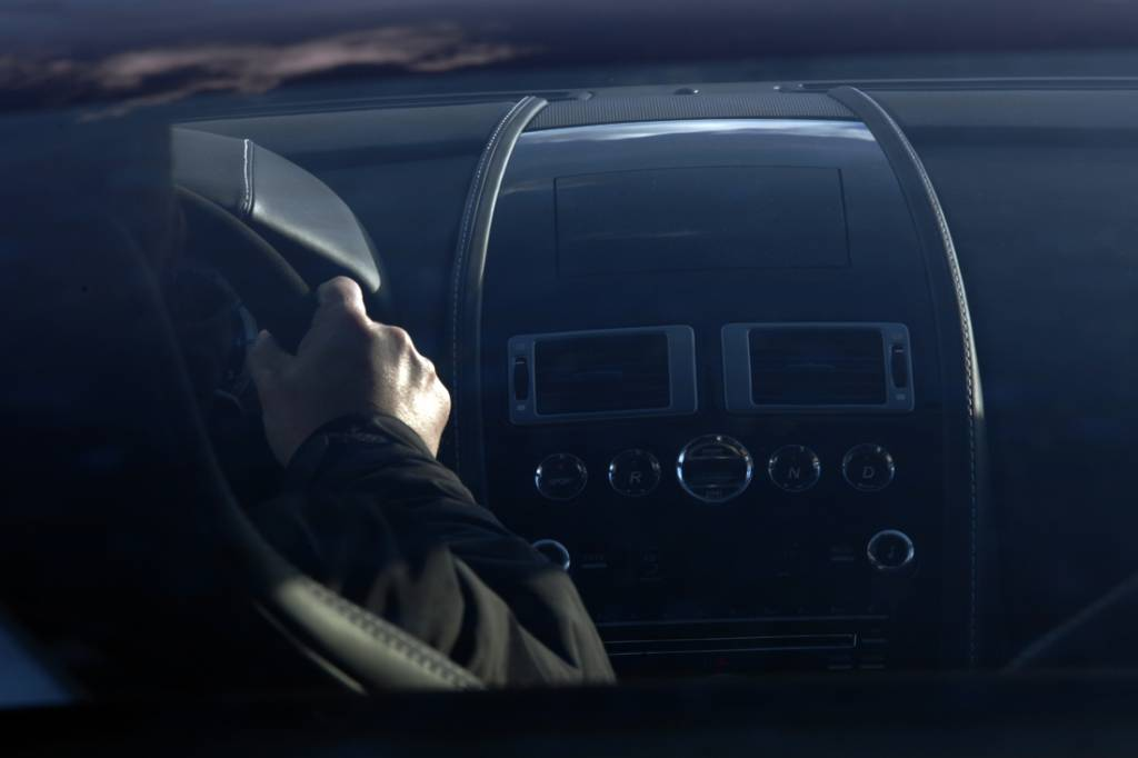 Aston Martin driver