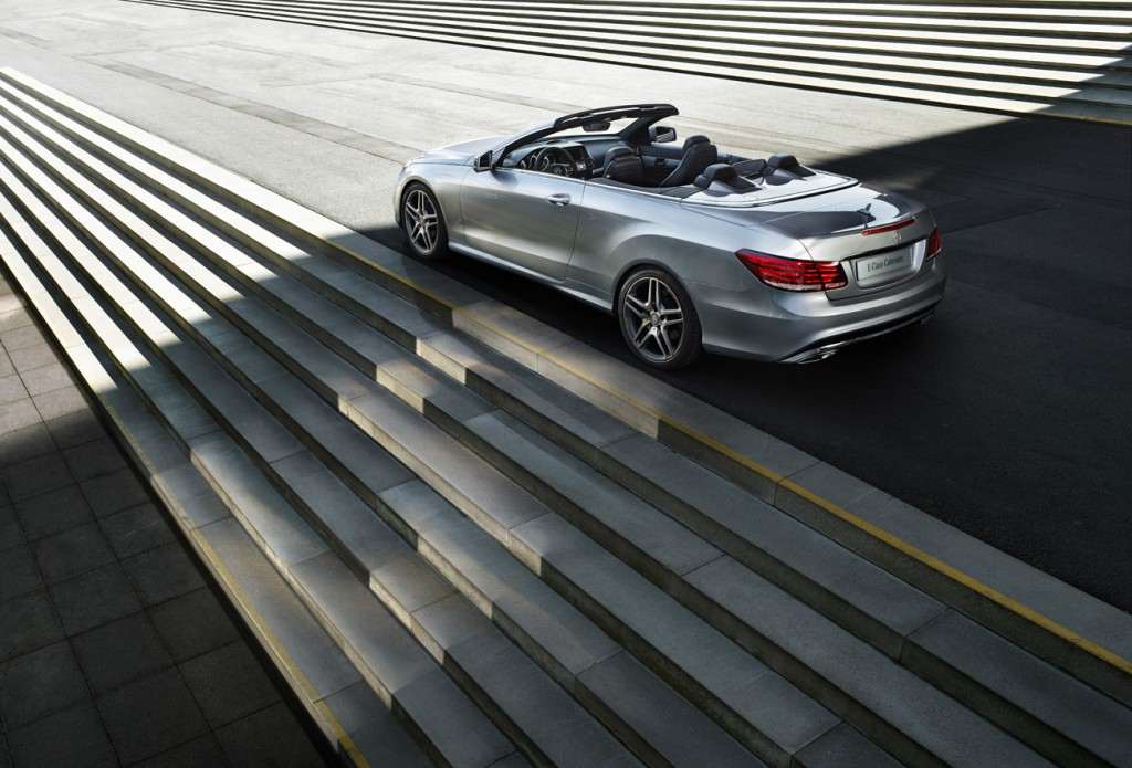 Mercedes-Benz E convertible