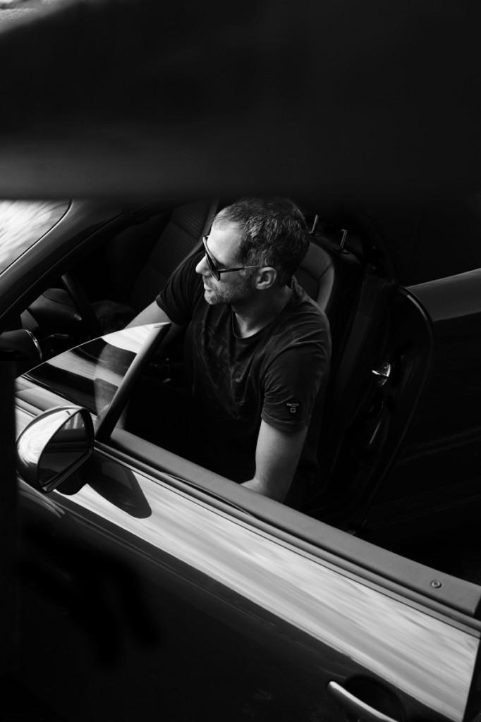 Audi TT driver