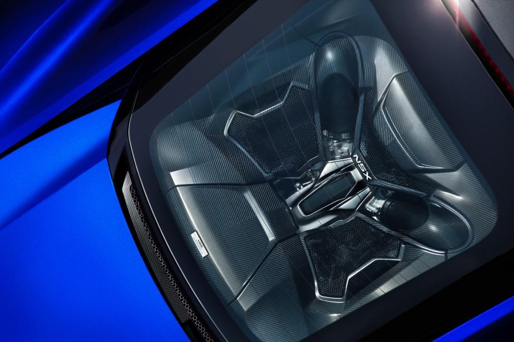 Acura NSX engine