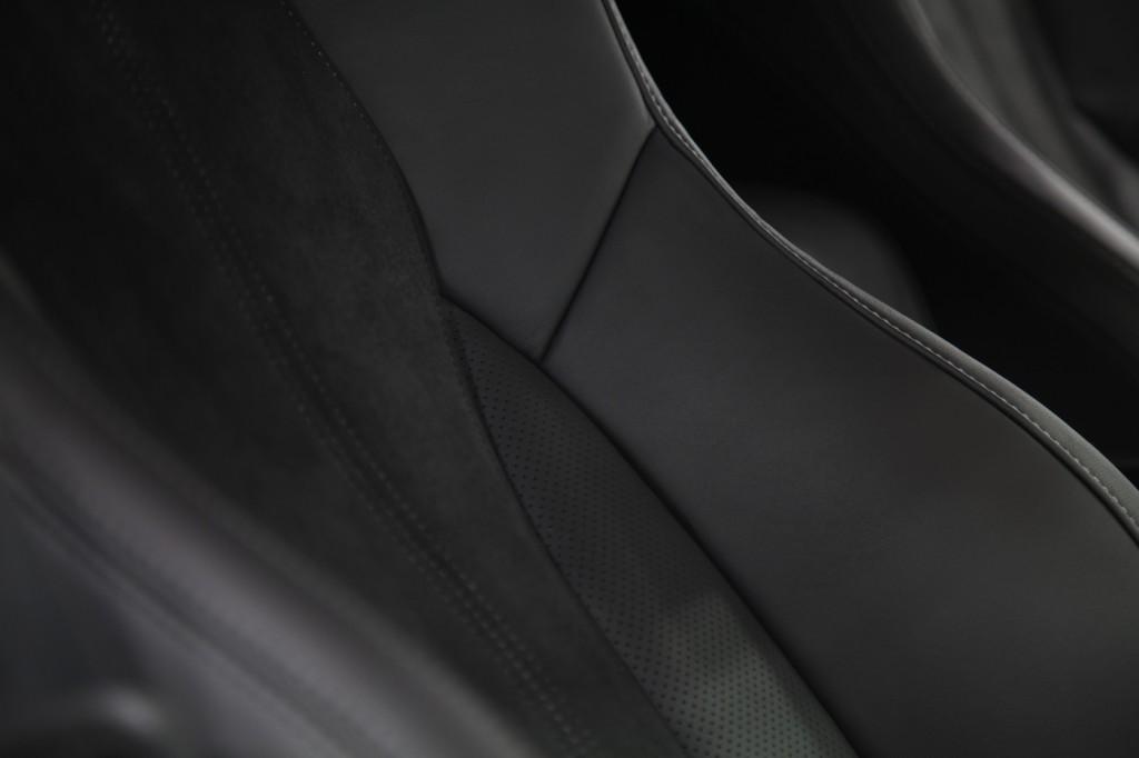 Acura NSX leather seats