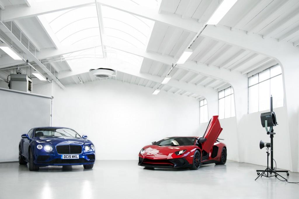Bentley continental GT / Lamborghini aventador SV 750-4