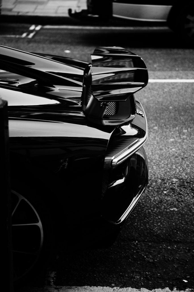 bugatti chiron rear
