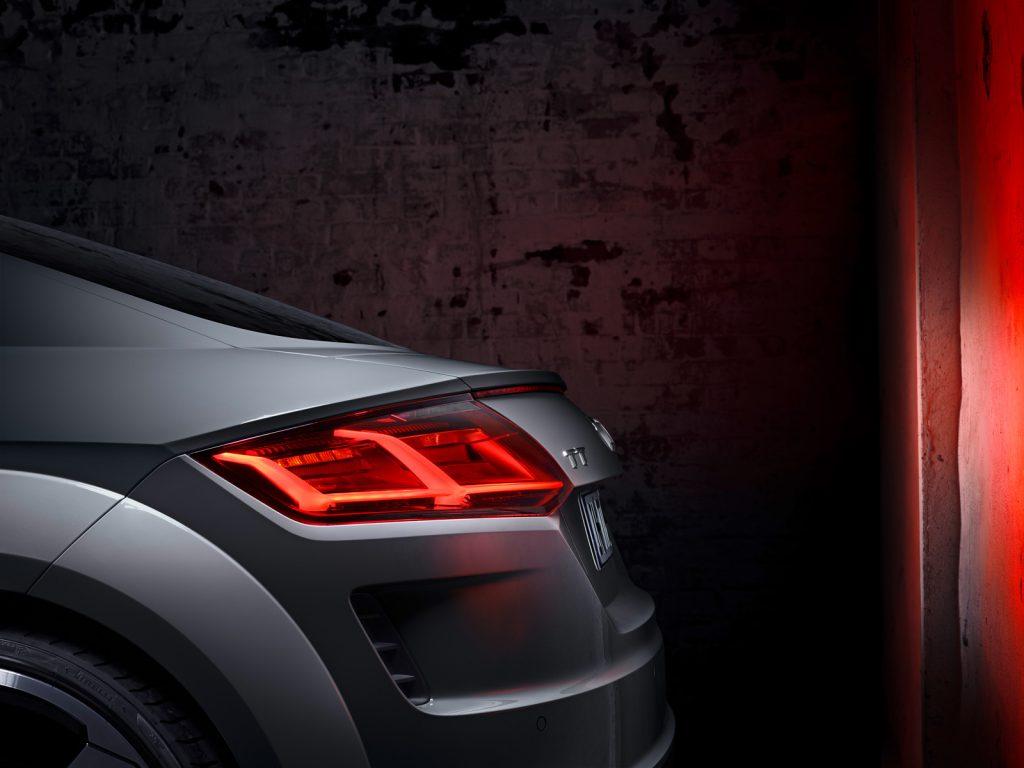 AUDI TT rear detail