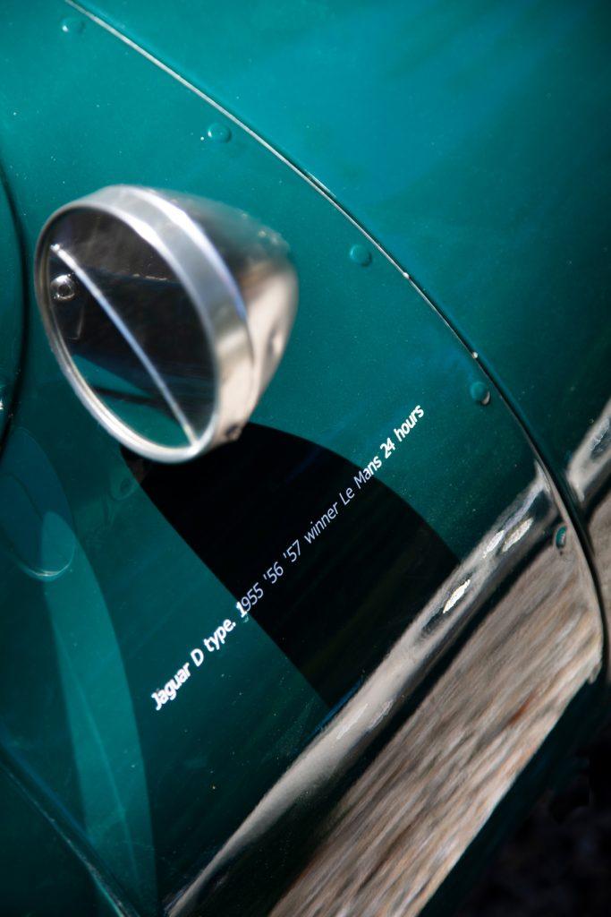 detail Jaguar D-type