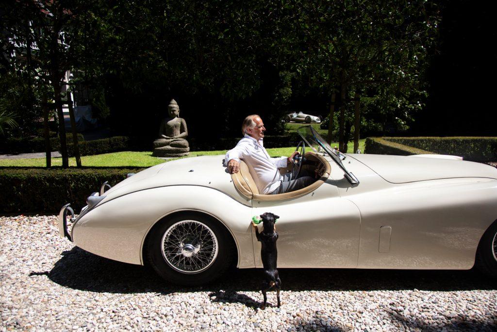 Jaguar side profile