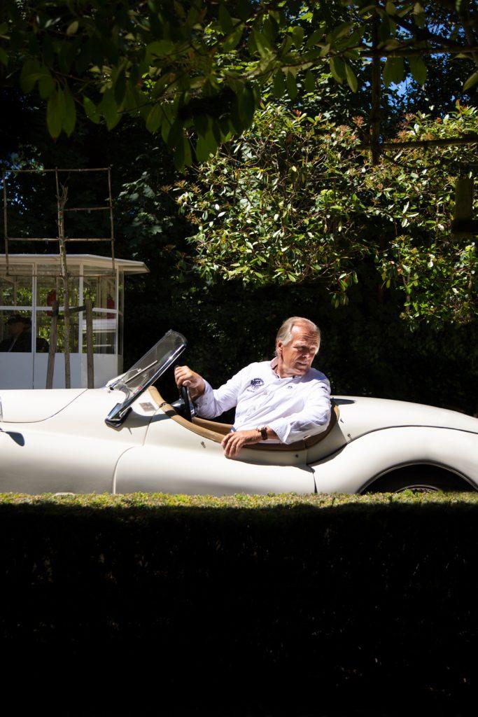 Michael Bleekemolen in Jaguar