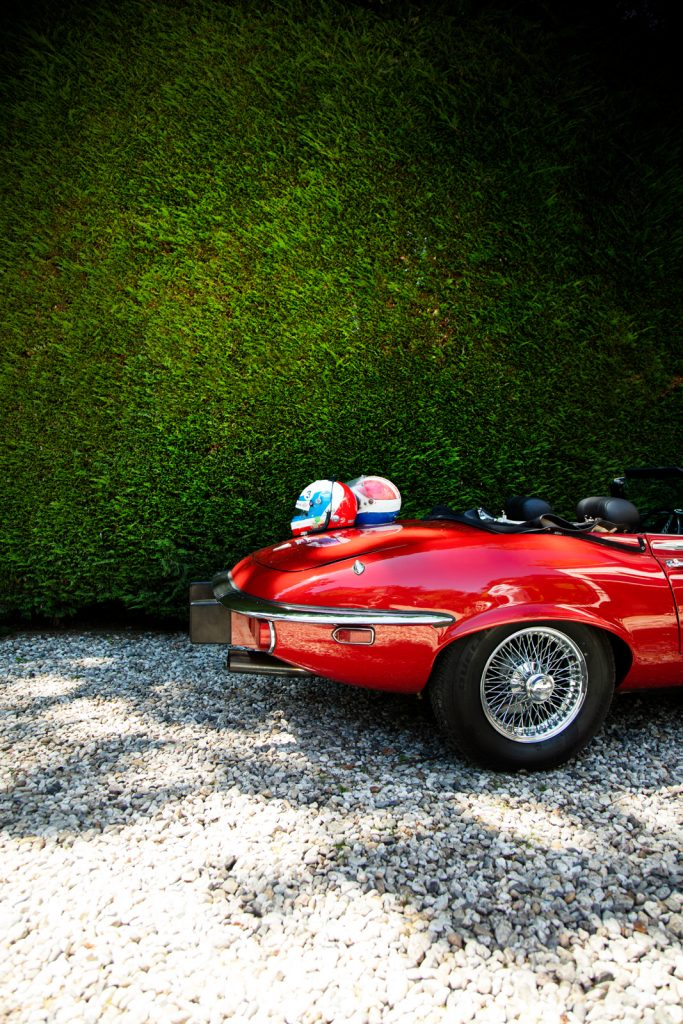 Jaguar E-type covertible