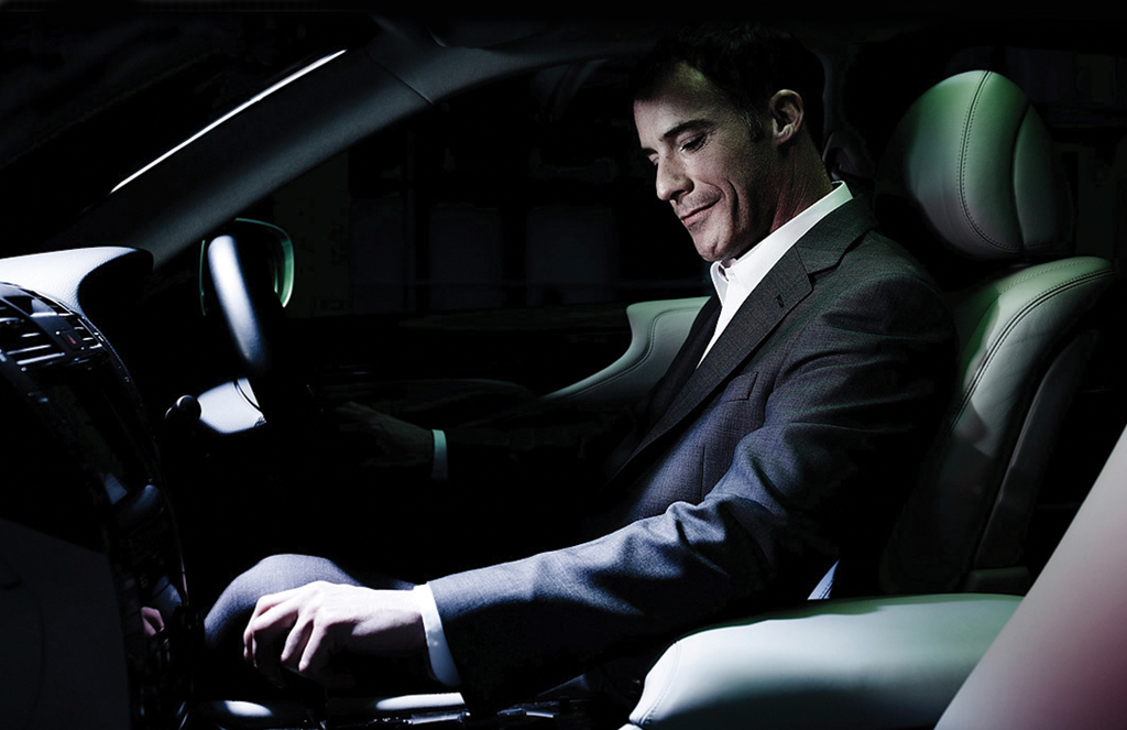 Lexus driver
