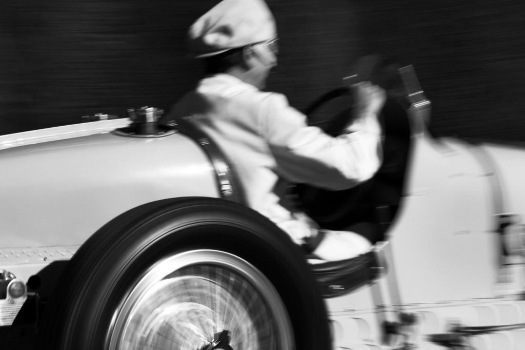 Bugatti driver