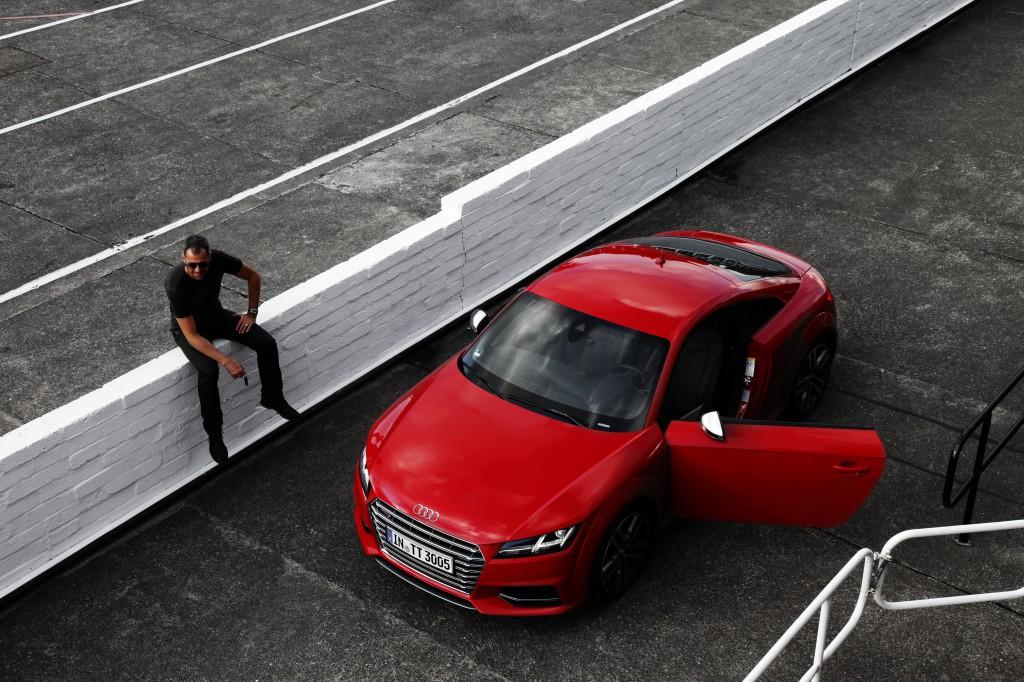 Audi TTS driver