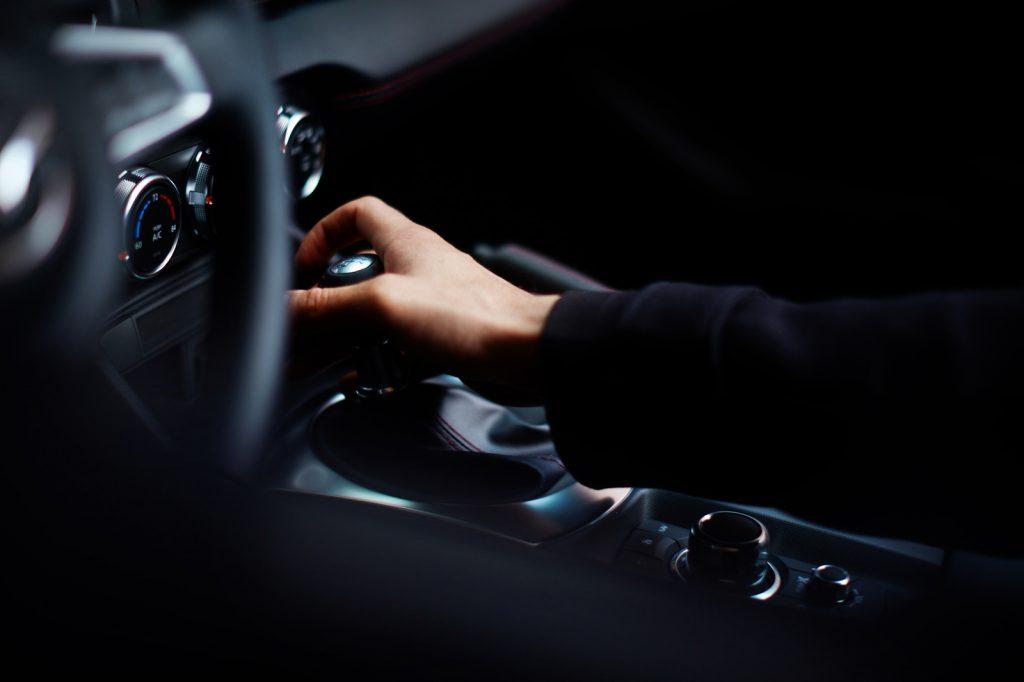 Mazda MX5 gearshift