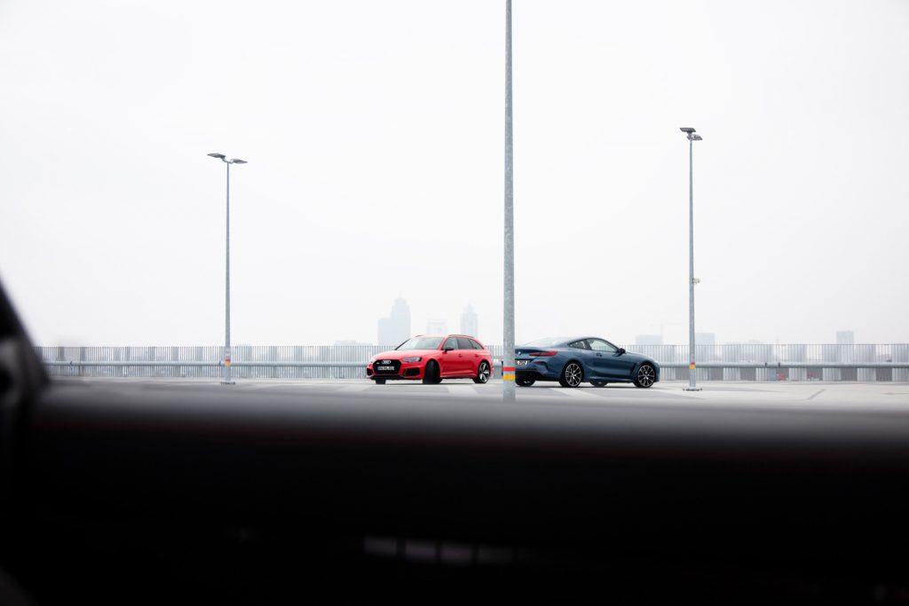 Audi RS4 / BMW 8