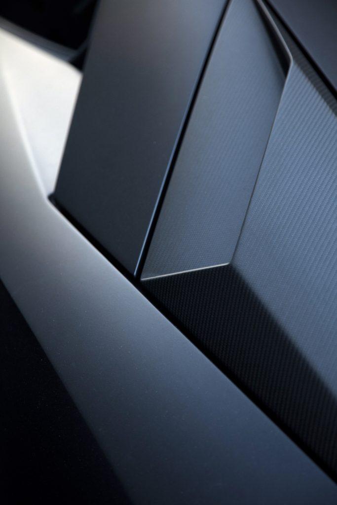Lamborghini Aventador detail