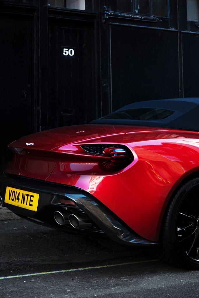 Aston Martin Zagato rear