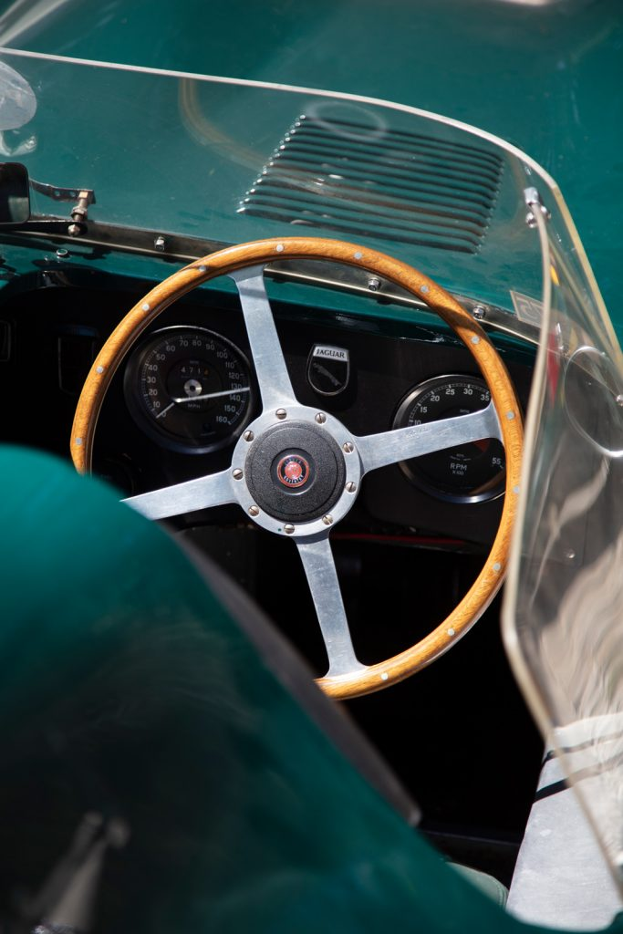 Jaguar D-type wheel
